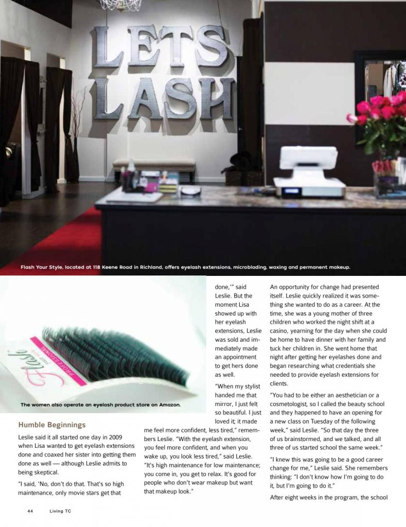 Flash Your Style Lash Services Signature Products Permanent